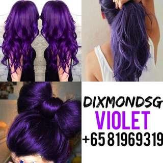 Violet Hair Dye