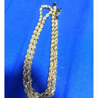 Gold Chain 58.42Grams