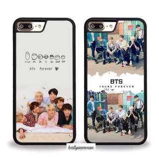 PO BTS FOREVER YOUNG PHONE CASE