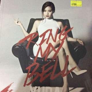 Girls day ring my bell cd(yura ver.)
