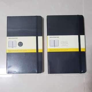 Clearance - Moleskine Squared Notebooks
