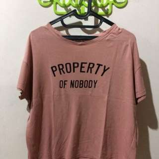 Pull n Bear Crop T-Shirt