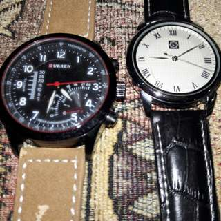 CURREN AND KFH WATCHES