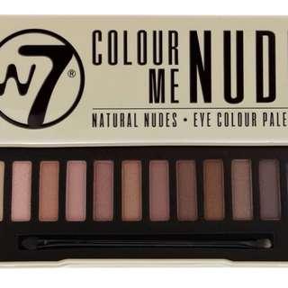 W7 Color Me Nude palette