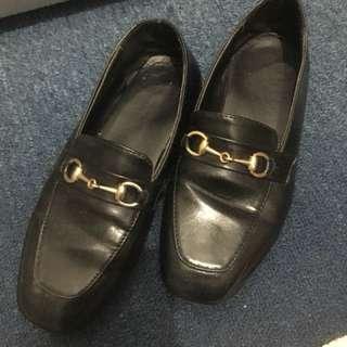 正韓 似 Gucci 款 牛津鞋 休閒鞋