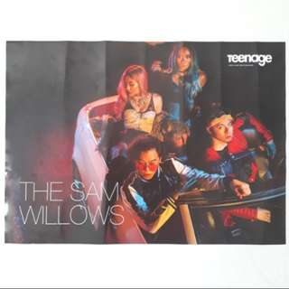 [BN Brand New Instock] Teenage The Sam Willows Poster