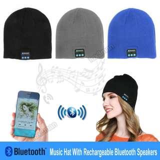 Bluetooth Music Hat Beanie 充電 藍牙喇叭 冷帽 可聽歌 可聽電話 內置咪 可免提