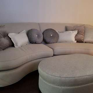 Couch and Ottoman For Sale!!