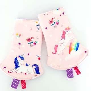 Unicorn Dreams Corner Drool Pads