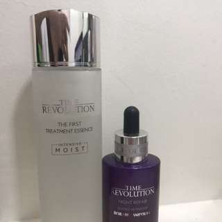 Time Revolution Essence and Ampoule
