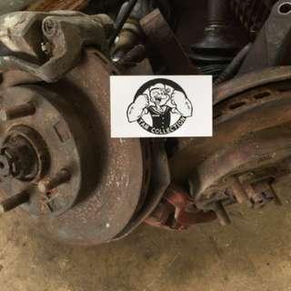 Disk brake 4G91 1.5