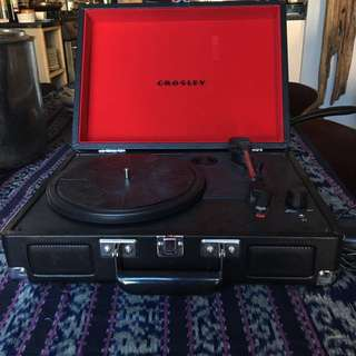 Crosley Portable Turntable  (got this for Christmas last year, but received a new one this year: hardly used, good condition)