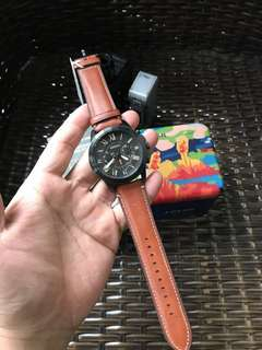 Fossil Leather Watch ORIGINAL FS5241