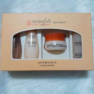 Etude Moistful Collagen Skin Care Set