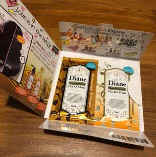 Moist Diane Extra Moist Samples Pack