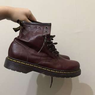 Dr. Martens - Red Boots
