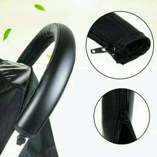 BN Baby Stroller Handle Protector in Black