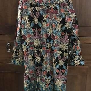 Dress batik yogya