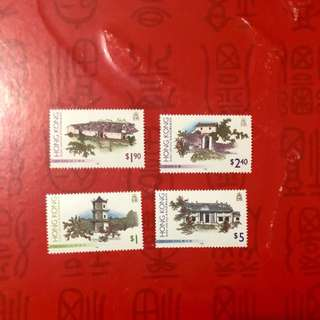 香港郊區郵票2