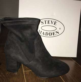 *PRICE DROP* BRAND NEW Steve Madden Booties w/ tie in the back! Size 8