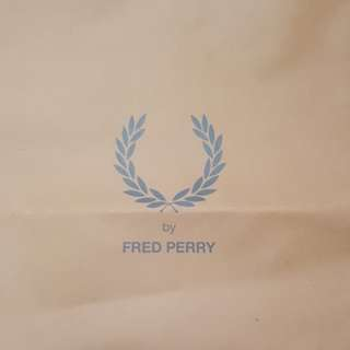 Fred Perry Paper Bag