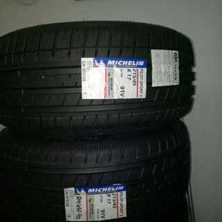 Michelin  ps3 215 45 17 2pc only