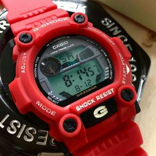 G shock c/w steel box