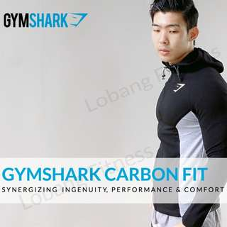 📦📦IN-STOCK📦📦 AUTHENTIC GYMSHARK CARBON HOODIE