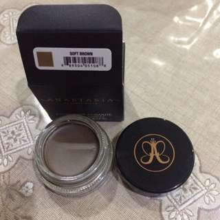 Authentic Anastasia Beverly Hills Dipbrow Pomade in Soft Brown