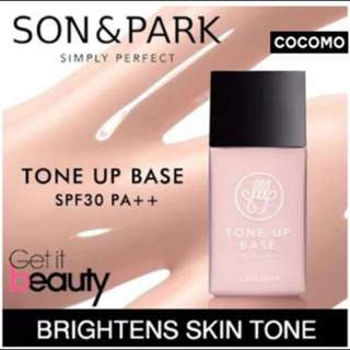 Son And Park Tone Up Base