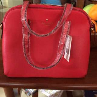 Kate Spade Red Sling Bag / Handbag