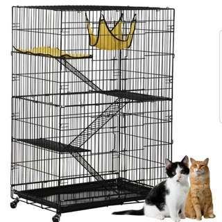 Jumbo Cat 3 Tiers Cage / Pet Cage / Cheapest Cage /  High Quality Cage /  Bird Cage / Rabbit Cage