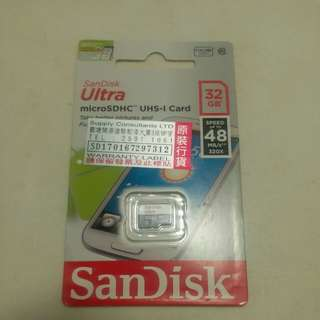 全新Sandisk 32gb Micro sd card