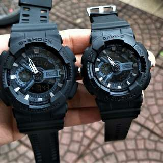 G shock couple promo c/w box