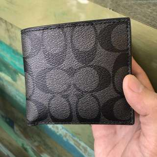 Coach wallet men preloved