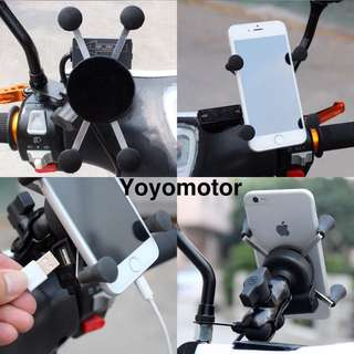 X GRIP HOLDER WITH USB(best selling)👍🏻👍🏻👍🏻