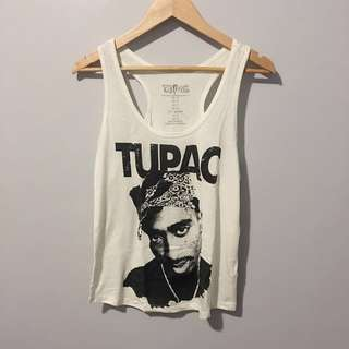 Forever21 Tupac Tank Top