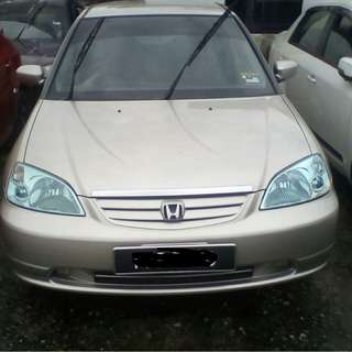 2003 Honda Civic ES 1.7 (A)