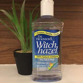 Dickinson's Witch Hazel 100% All natural