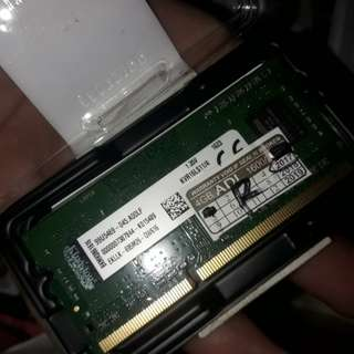 Kingston DDR3 laptop ram pc3 4gb