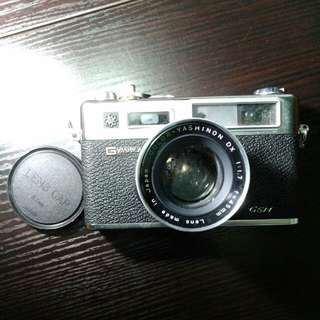 yashica菲林相機vintage,made in japan, 8.5cmx14cm