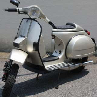 Vespa drop bar