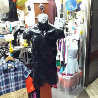 Male/female mannequins and mannequin stand