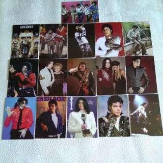Michael Jackson Postcards A Set of 16 明信片一套16張
