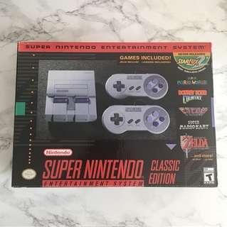 SNES Classic Edition Mini