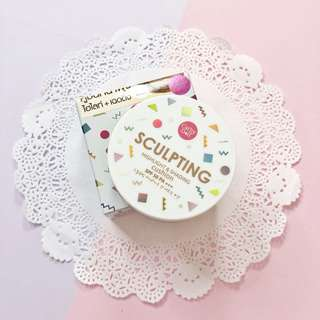 Cathy doll sculpting highlight & shading cushion • contour sale preloved discount makeup blogsale
