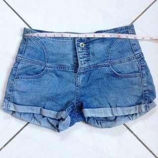 Denim Shorts- 14 inches laid flat
