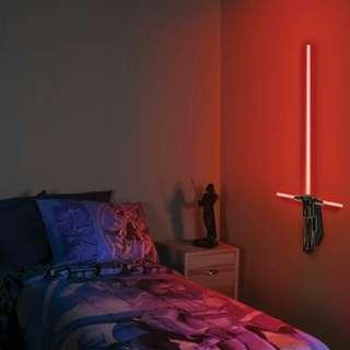 $376 Star wars kylo ren lightsaber wall light 激光劍 牆燈