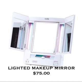 Jerdon Lighted Makeup Mirror