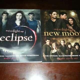 Twilight Saga illustrated movie companions